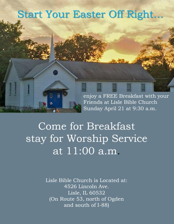 LBV Easter Invite 2019